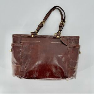 Coach Vintage Mahogany (Brown) Leather Tote